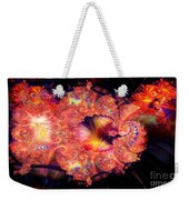Fractal Layered Weekender Tote Bag