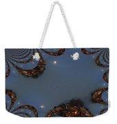 Fractal Moon Weekender Tote Bag