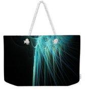 Fractal Rays Weekender Tote Bag