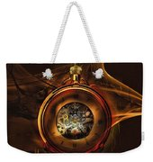 Fractal Time Weekender Tote Bag by Richard Ricci
