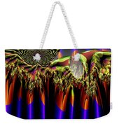 Fractal Torch Weekender Tote Bag