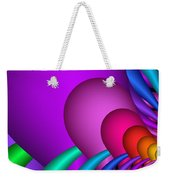 Fractalized Colors -1- Weekender Tote Bag