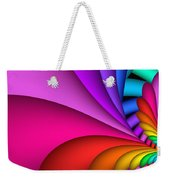 Fractalized Colors -2- Weekender Tote Bag
