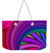 Fractalized Colors -3- Weekender Tote Bag by Issabild -