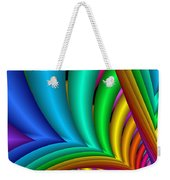 Fractalized Colors -4- Weekender Tote Bag