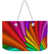 Fractalized Colors -7- Weekender Tote Bag by Issabild -