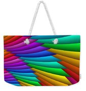 Fractalized Colors -8- Weekender Tote Bag