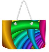 Fractalized Colors -9- Weekender Tote Bag