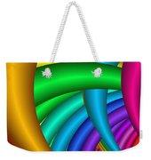 Fractalized Colors -9- Weekender Tote Bag
