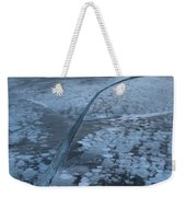 Fracture Through The Bubbles Weekender Tote Bag