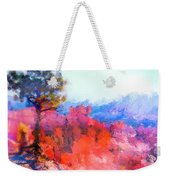 Fractured Landscape Weekender Tote Bag