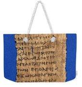 Fragment Of Hippocratic Oath, 3rd Weekender Tote Bag