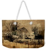 Fragmented Barn  Weekender Tote Bag by Julie Hamilton