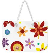Fragrant Folly White Weekender Tote Bag
