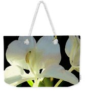 Fragrant White Ginger Weekender Tote Bag by James Temple
