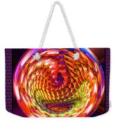 Framed Glass Spiral Weekender Tote Bag