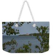 Framed Lighthouse Weekender Tote Bag