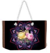 Framed Rose Bouquet Montage Weekender Tote Bag