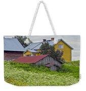 Framehouses In Finland Weekender Tote Bag