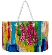Framing Petals Weekender Tote Bag
