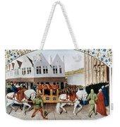 France: Charles Iv Weekender Tote Bag