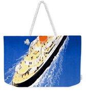 France Cruise Vintage Travel Poster Restored Weekender Tote Bag
