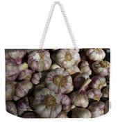 France, Paris Sunday Market Garlic Weekender Tote Bag