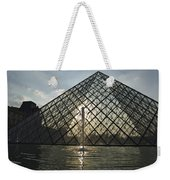 France, Paris The Louvre Museum Weekender Tote Bag