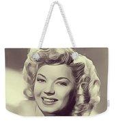 Frances Langford, Vintage Actress Weekender Tote Bag