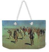 Francisco Vasquez De Coronado Making His Way Across New Mexico Weekender Tote Bag by Frederic Remington