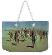 Francisco Vasquez De Coronado Making His Way Across New Mexico Weekender Tote Bag