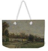 Francois Daubigny   The Garden Wall Weekender Tote Bag