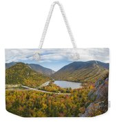 Franconia Notch Autumn View Weekender Tote Bag