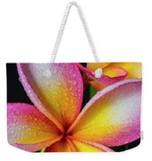 Frangipani After The Rain Weekender Tote Bag