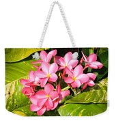 Frangipanis In Bloom Weekender Tote Bag