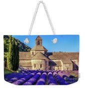 All Purple, Cistercian Abbey Of Notre Dame Of Senanque, France  Weekender Tote Bag