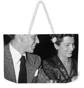Frank Sinatra And Nancy Weekender Tote Bag
