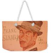 Frank Sinatra - The Voice Weekender Tote Bag