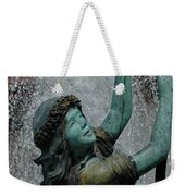 Frankenmuth Fountain Girl Weekender Tote Bag