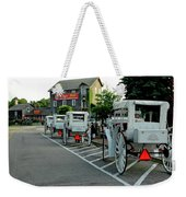 Frankenmuth Michigan Carriages At The Mill Weekender Tote Bag