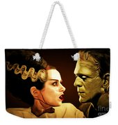 Frankenstein And The Bride I Have Love In Me The Likes Of Which You Can Scarcely Imagine 20170407 Weekender Tote Bag