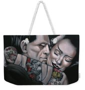 Frankenstein And Wife  Weekender Tote Bag