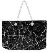 Frankfurt Germany Dark Map Weekender Tote Bag