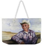 Frankie Weekender Tote Bag by Sam Sidders