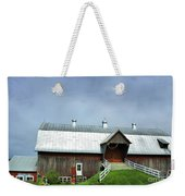 Franklin Barn By The Lake Weekender Tote Bag