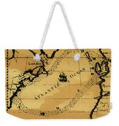 Franklin Chart, 1786 Weekender Tote Bag