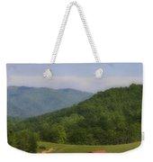 Franklin County Virginia Red Barn Weekender Tote Bag by Teresa Mucha