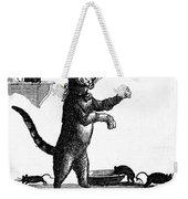 Franklin: Way To Wealth Weekender Tote Bag