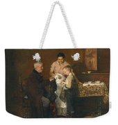 Franz Rumpler  The Letter 1882 Weekender Tote Bag