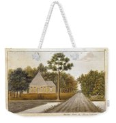 Fraser  Charles   Meeting House In Prince Williams Parish From Untitled Sketchbook Weekender Tote Bag